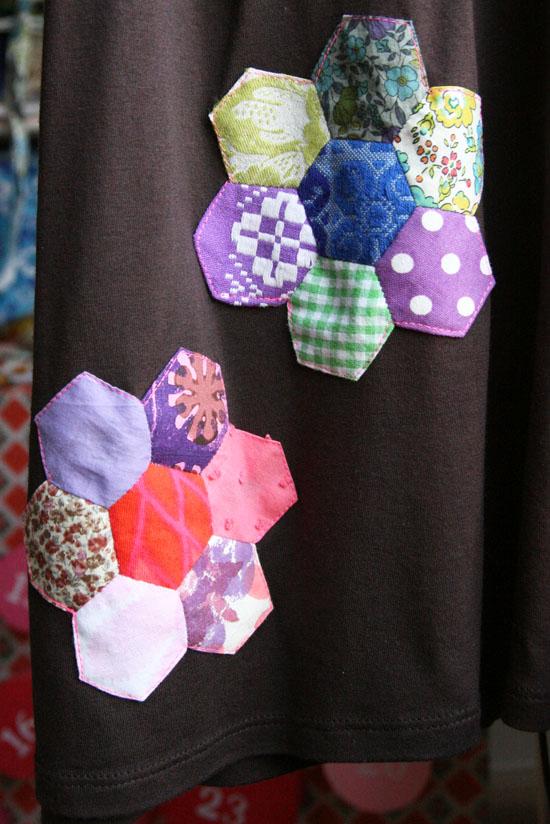 Sekskant-blomster