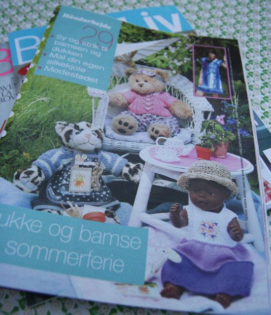 Bamse/dukke tillæg Hendes Verden uge 29 2009