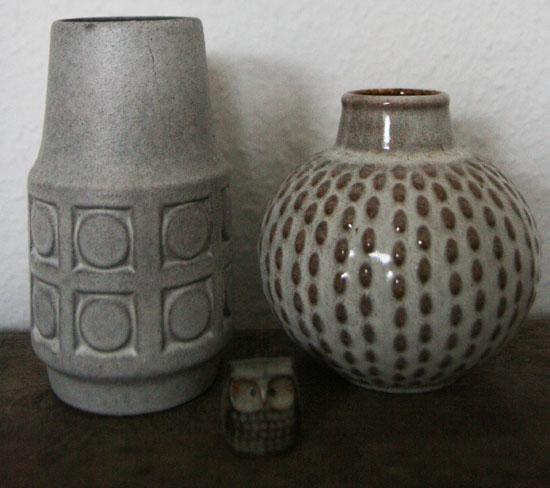 keramik vaser retro Længe leve genbrug | Karen Marie keramik vaser retro