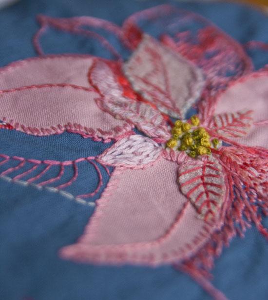 Broderi, embroidery, julebroderi