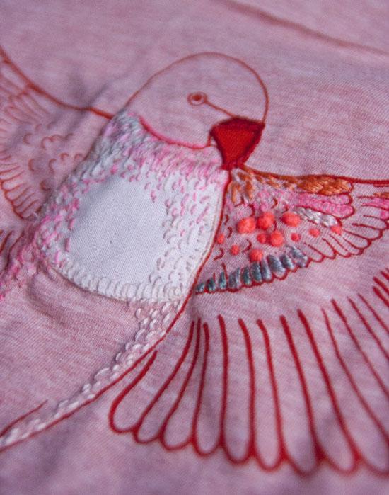 Tryk og broderi, screen print, embroidery