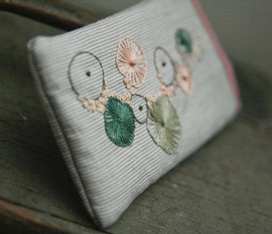tungestingshjul, broderi, embroidery