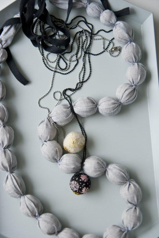 tekstile smykker