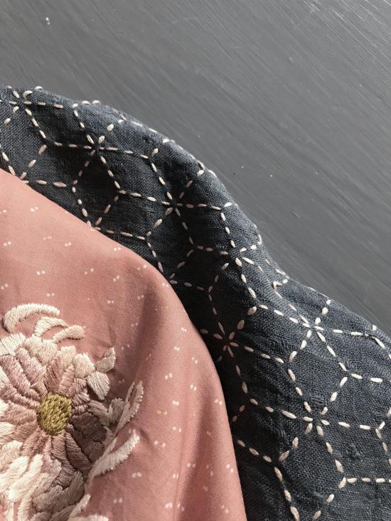 kimono, broderi, sashiko